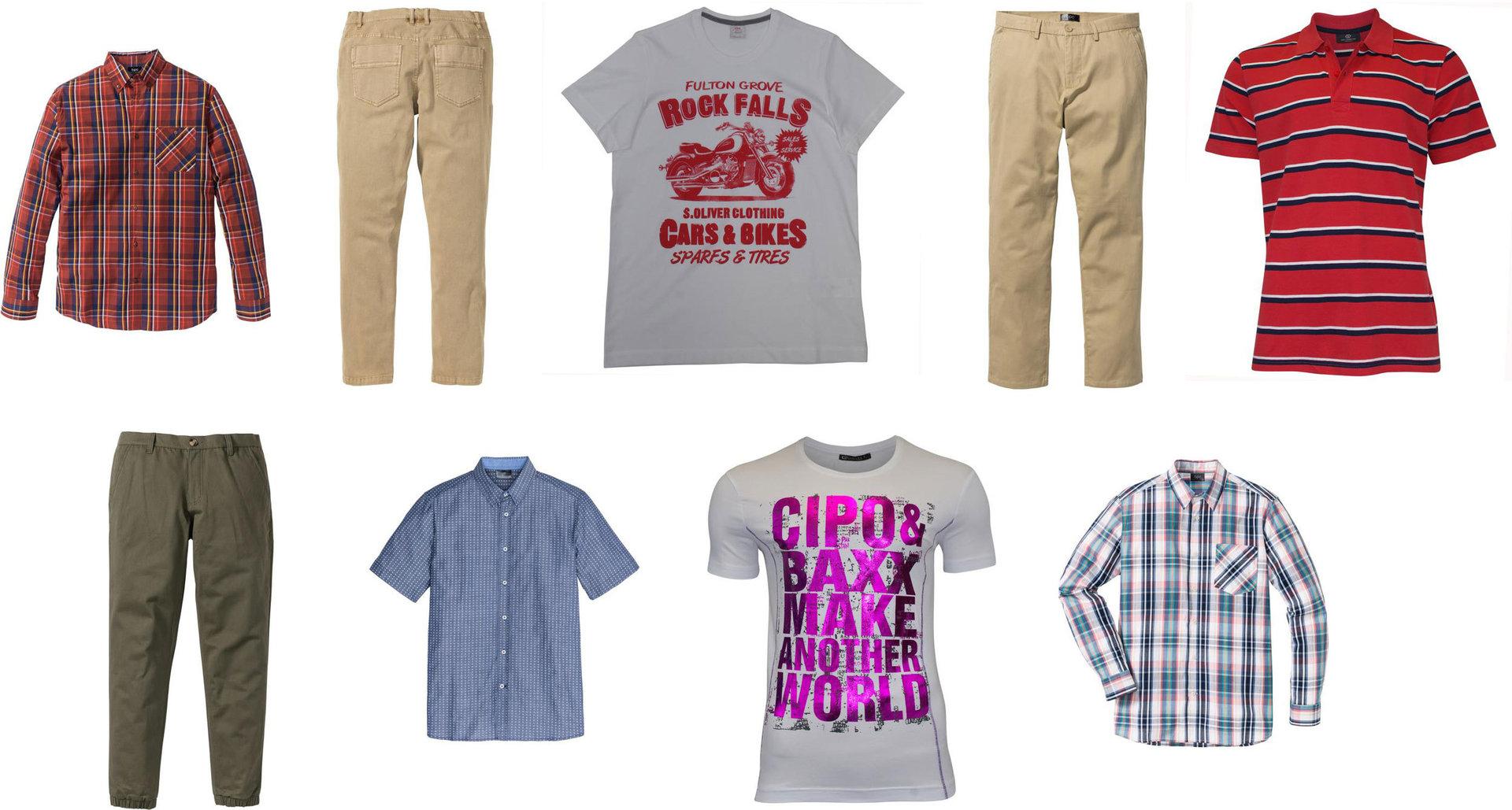Marca find Pack de 2 Camisa de Cuadros Vichy Slim Fit Hombre