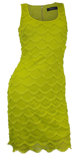 Lace dress mini dress lime